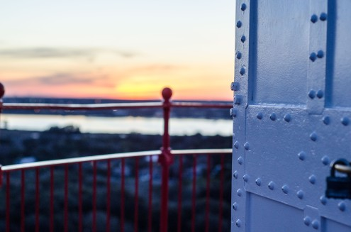 Climb the 219 steps to the top of the St. Augustine Lighthouse and behold a 360-degree view from the top. To the west, historic downtown, and to the east are those beautiful beaches.