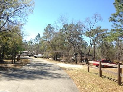 Sandhill Camping Area