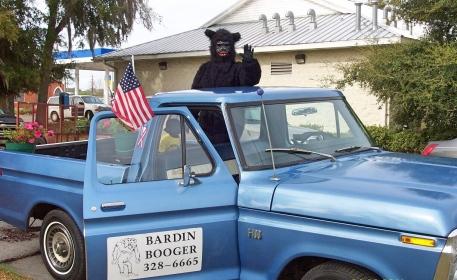 Booger in Truck